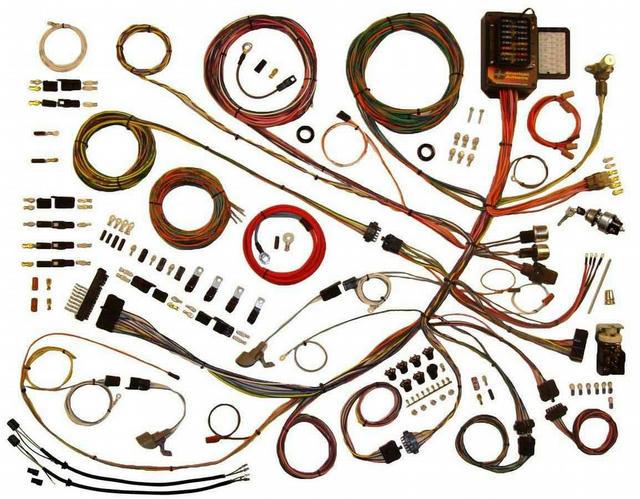 53-56 Ford P/U Wiring Harness