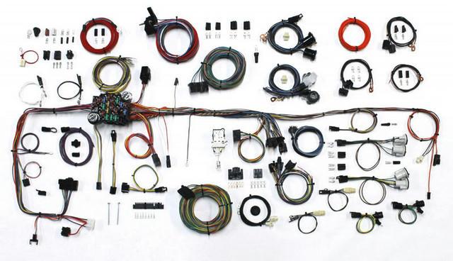 83-87 GM P/U Wiring Harness