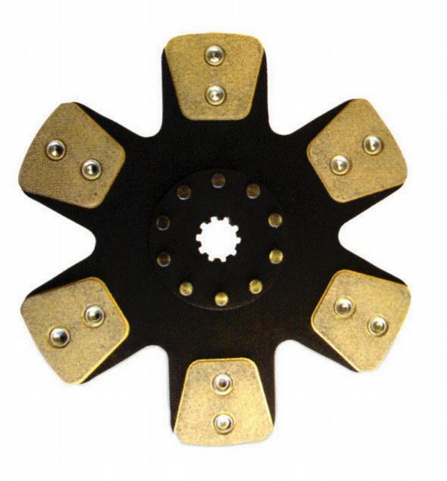 10.5  Clutch Disc Metallic 1-1/8x10