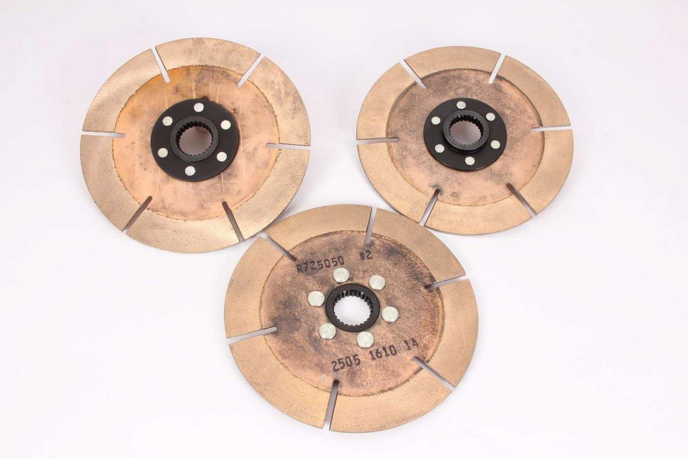 Clutch Pack 7.25in 3 Disc 26 Spline