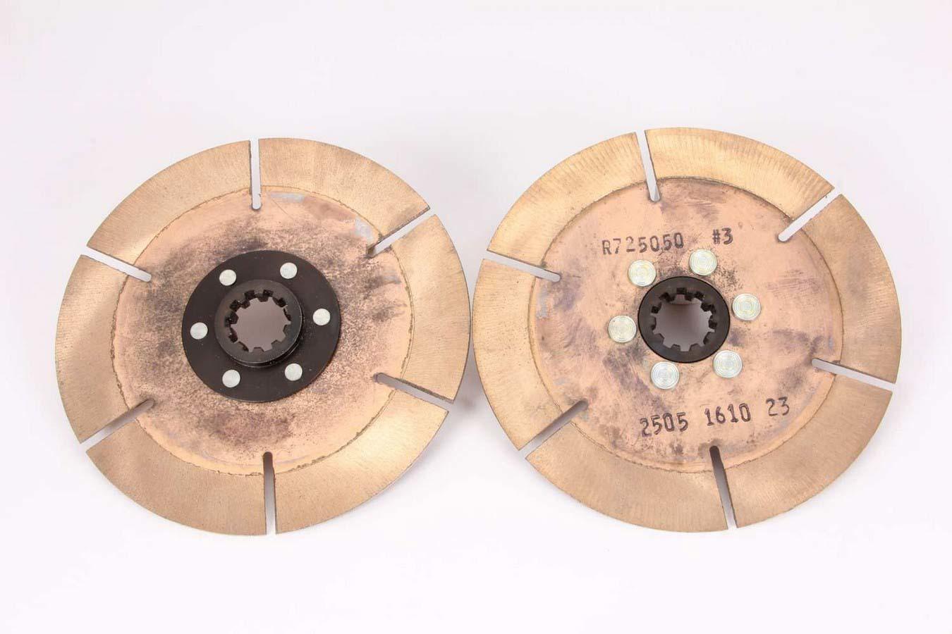 Clutch Pack 7.25in 2 Disc 10 Spline