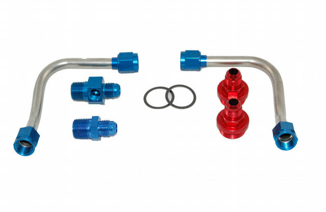 S/S Fuel Line Kit - 4500 w/Holley Regulator