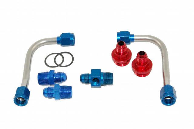 S/S Fuel Line Kit - 4150 w/Holley Regulator