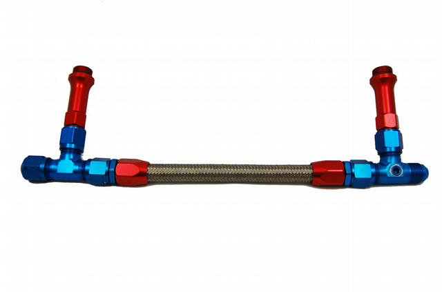 Braided Fuel Line Kit - #8 Holley Carb.