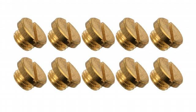 Brass Sight Plug (10pk)