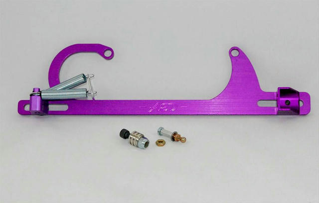 Chevy Throttle & Cable Spring Bracket - 4150