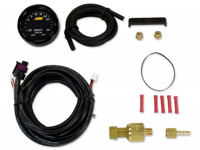 X-Series Boost Pressure Gauge -30inHg-35psi