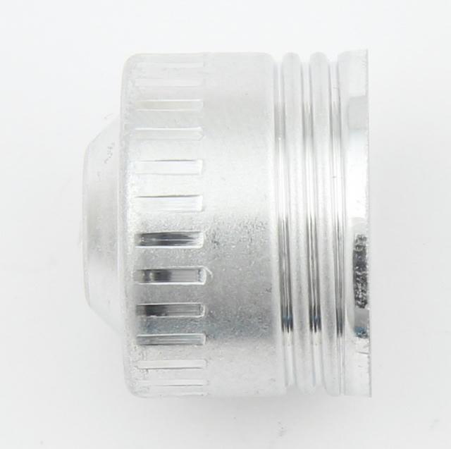 -12 Aluminum Dust Cap 10pk
