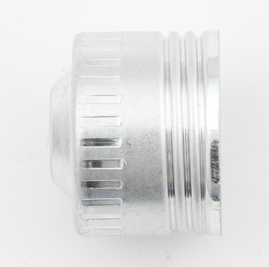 -16 Aluminum Dust Cap 10pk