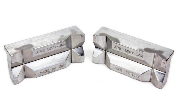Aluminum Vise Inserts