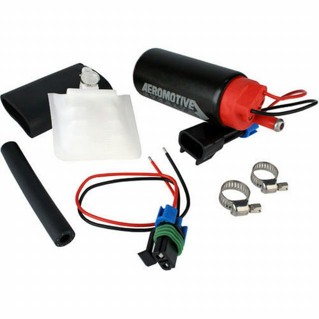 340 Stealth Fuel Pump - Offset Inlet - Inline