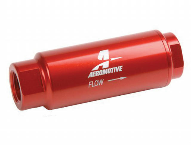 Fuel Filter w/40-Micron Fabric Element