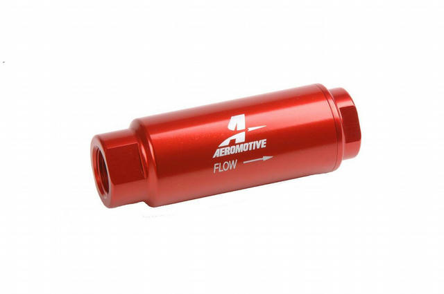 In-Line Fuel Filter - 100 Micron