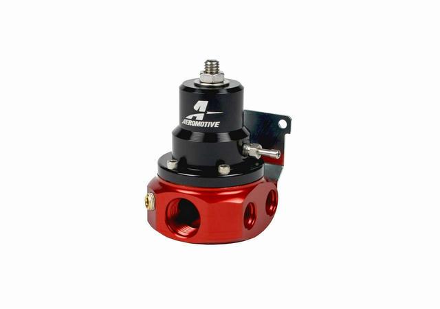 4-Port Bypass Adjustable Regulator - 3-15psi