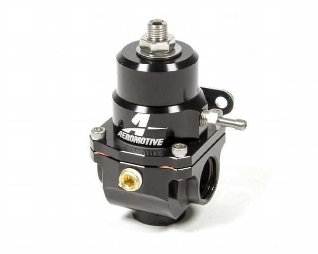 X1 Fuel Regulator Black 35-75psi w/.313 Seat