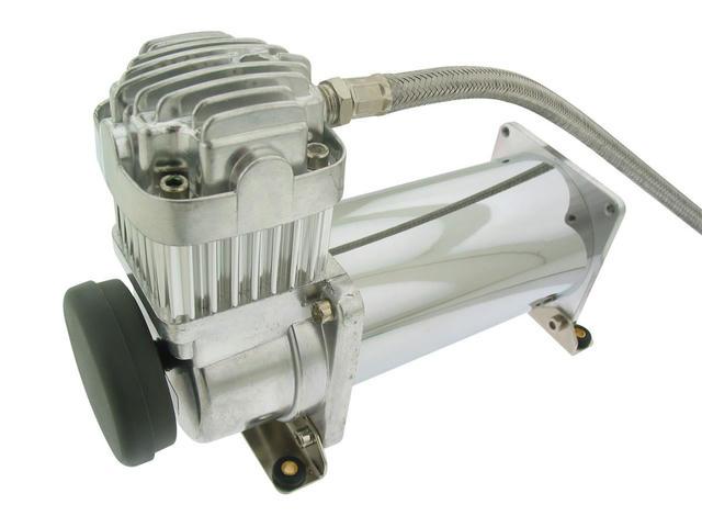 Chrome Air Compressor 200PSI Viair 380C