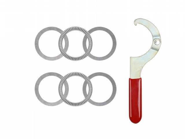 Thrust Bearing Kit w/Adj. Spanner Wrench