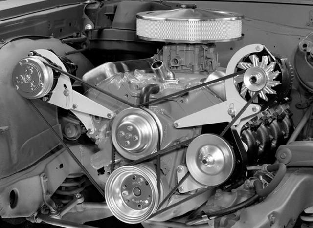 Bracket Alternator and Power Steering