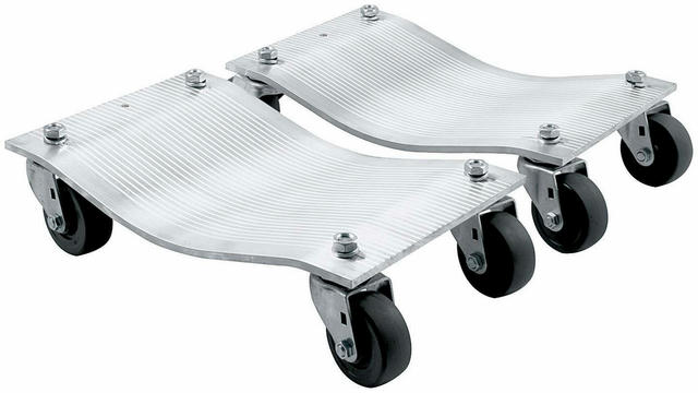 Wheel Dollies Aluminum 1pr Std Casters