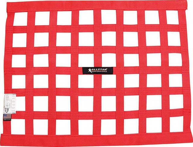 Window Net Border Style 18 x 24 SFI Red