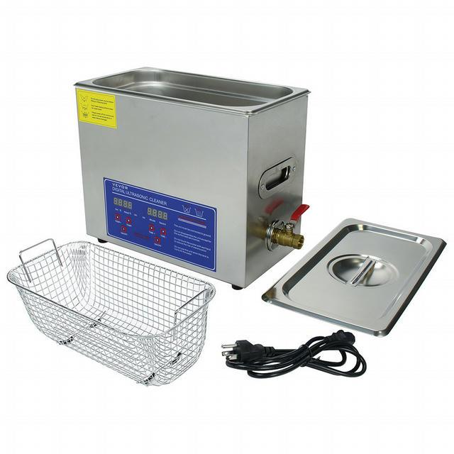 Ultrasonic Cleaner Small 1 Gallon Capacity