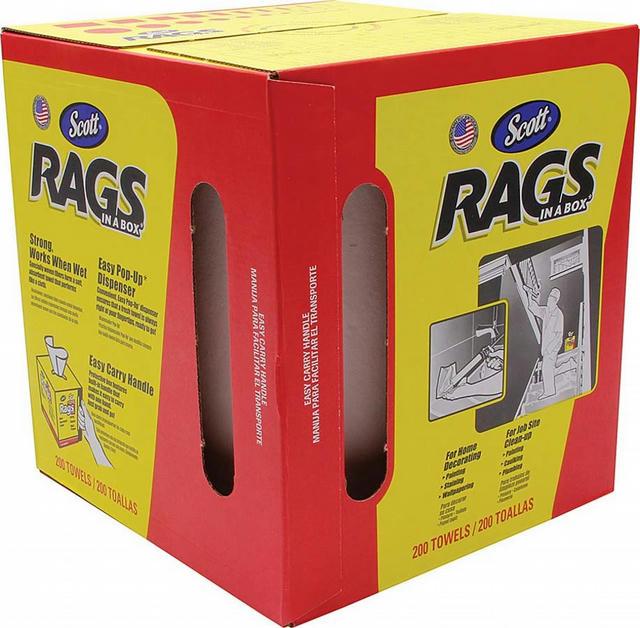 Scott Rags in Box 200ct