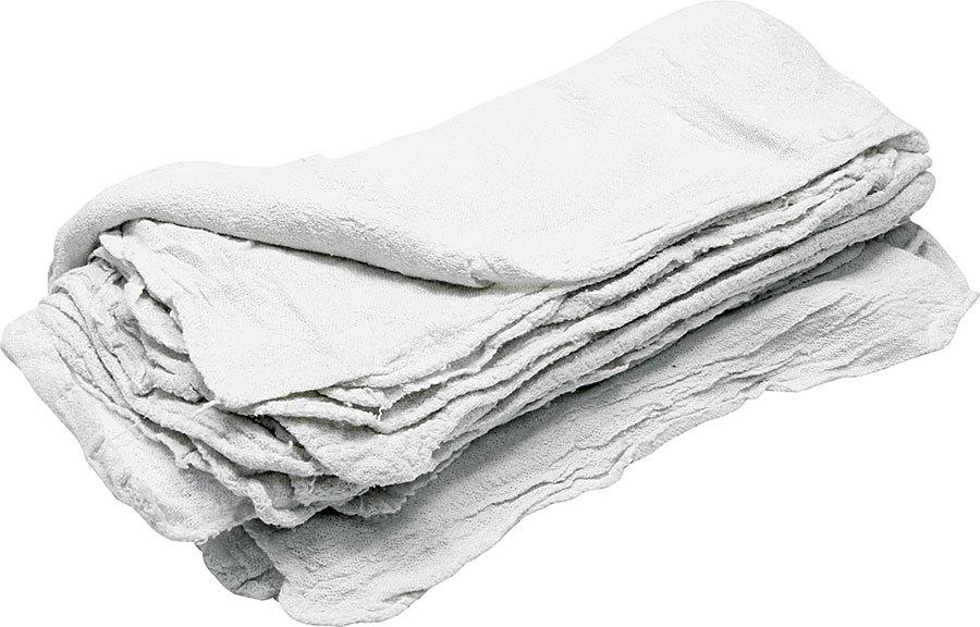 Shop Towels White 25pk