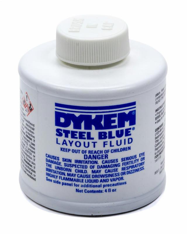 Dykem Layout Fluid 4oz Brush in Cap