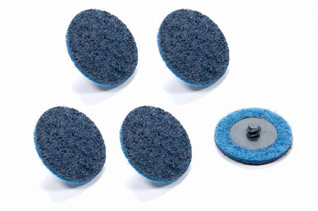 Twist Lock Cleaning Disc 2in Fine 5pk