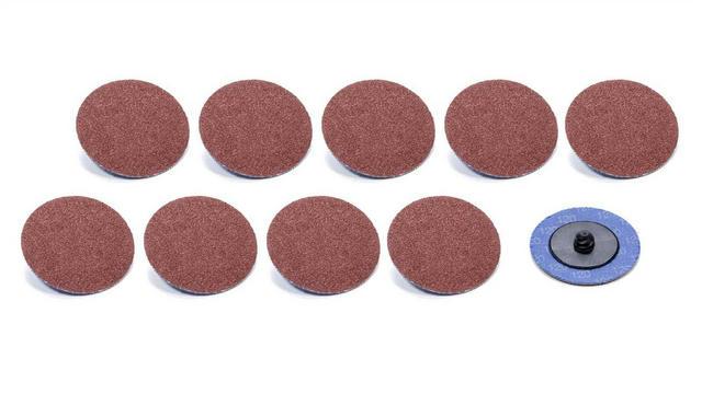 Twist Lock Sanding Disc 2in 120 Grit 10pk