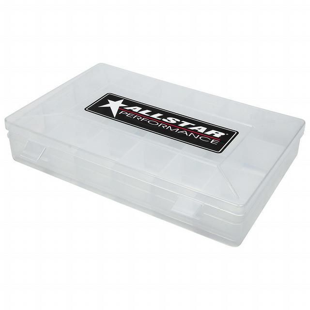 Plastic Storage Case 18 Comp 11x7x1.75