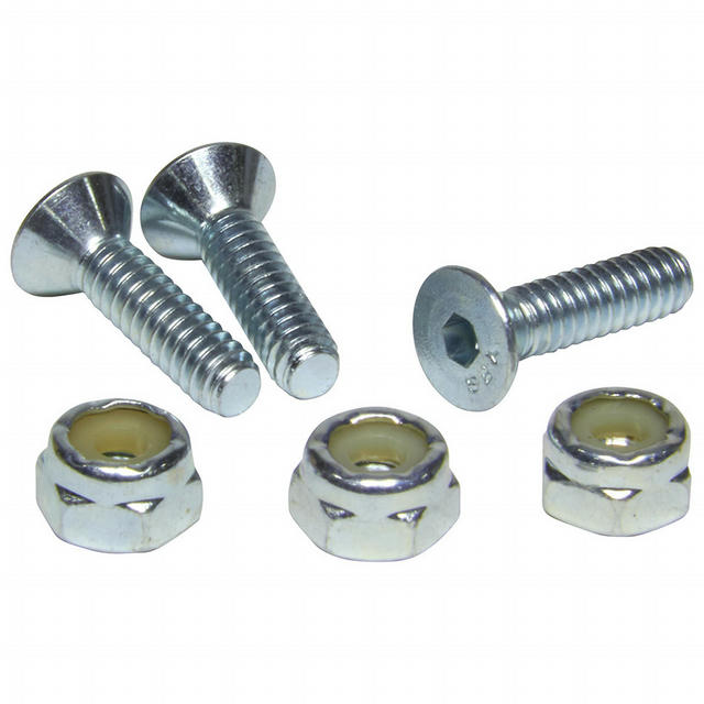 Windshield Mounting Kit Stainless Steel