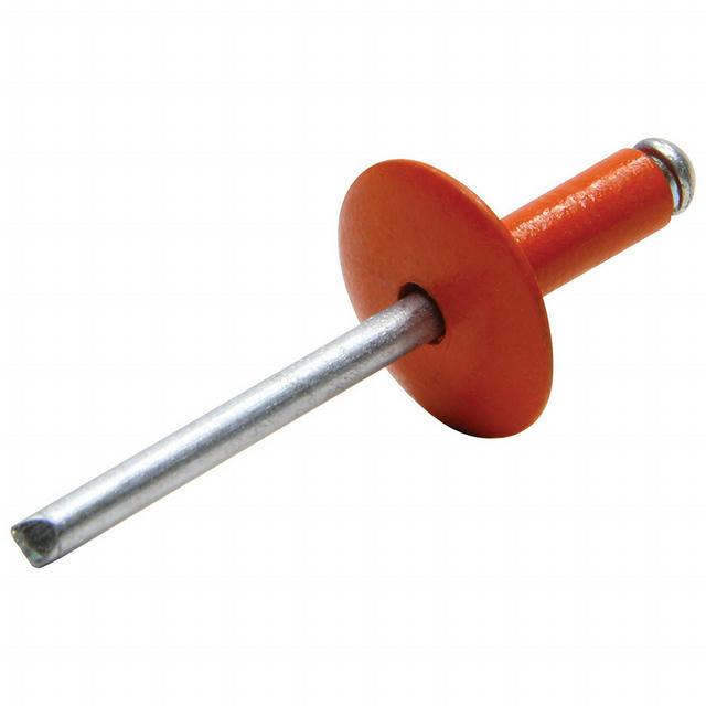 Lg Hd Rivet Orange 250pk