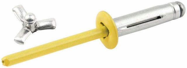 Sm Hd Rivet 250pk Yellow Flange Type