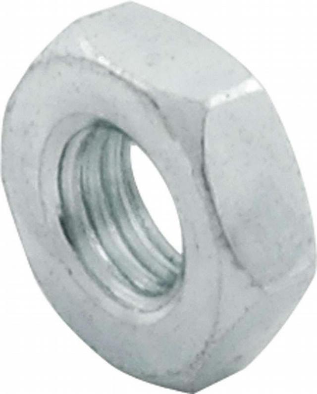 1/4-28 RH Steel Jam Nuts 50pk