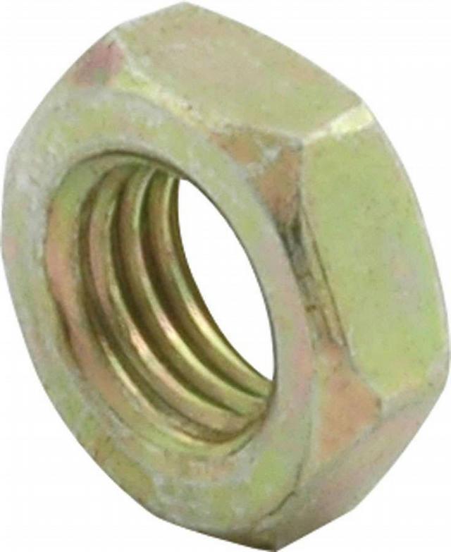 1/4-28 LH Steel Jam Nuts 10pk