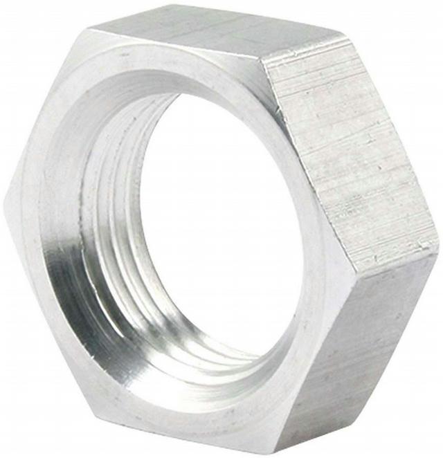 5/8-18 LH Steel Jam Nuts Thin OD 4pk