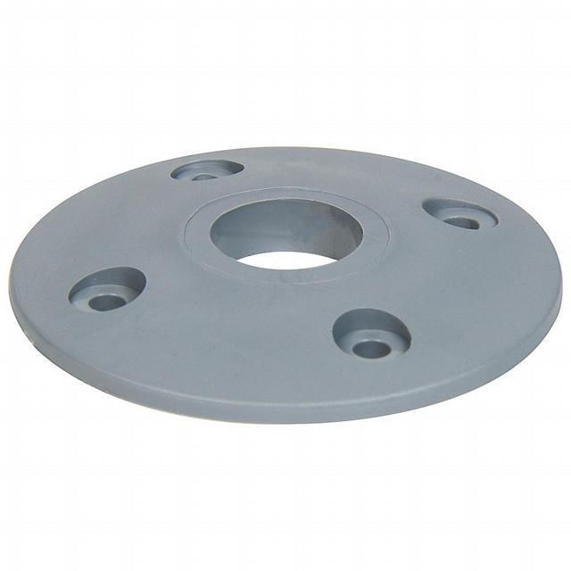 Scuff Plate Plastic Silver 25pk