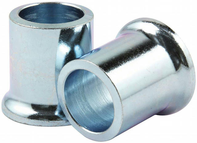 Tapered Spacers Steel 5/8in ID x 1in Long