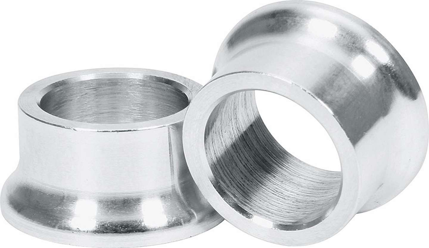 Tapered Spacers Alum 5/8in ID 1/2in Long
