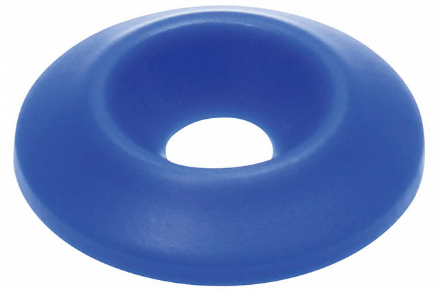 Countersunk Washer Blue 10pk