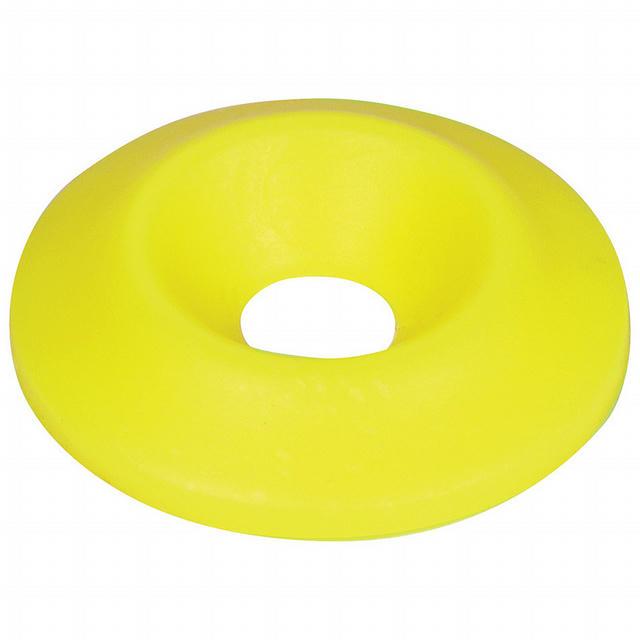 Countersunk Washer Fluorescent Yellow 50pk