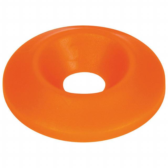 Countersunk Washer Fluorescent Orange 50pk