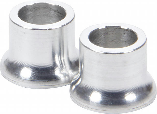 Tapered Spacers Aluminum 3/8in ID 1/2in Long