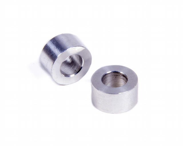 Flat Spacers Alum 3/8in Thick 3/8in ID 11/16inOD