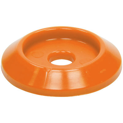 Body Bolt Washer Plastic Orange 10pk