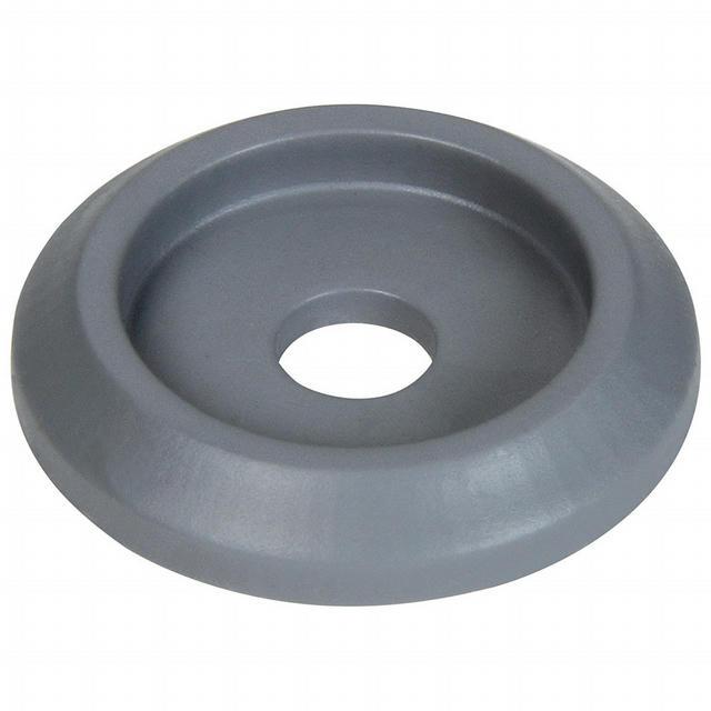 Body Bolt Washer Plastic Silver 10pk