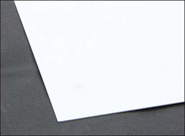 Steel Sheet 4x10 White 24ga