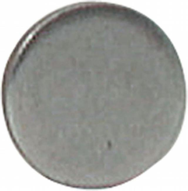 Steel End Caps 1in OD 10pk