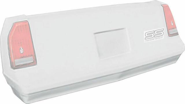 M/C SS Tail White 1983-88